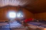 Nachtlager in der Frasdorfer Hütte