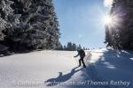 Schneeschuhe gehen auch abseits der gewalzten Winterwanderwege