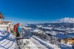 Herrliche Aussicht auf die Alpenkette und das Allgäu