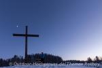 Erreicht - das Gipfelkreuz der Martinshöhe