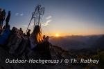 Gipfelkreuz-Selfie muss sein