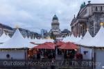 Zeltstadt auf dem Gendarmenmarkt