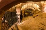 Landmanns Weinkeller muss auch gestützt werden