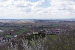 Blick auf die Ölbergkapelle