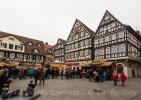 Schöner Fachwerkmarktplatz