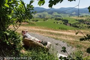 Aussichtsreiche Wanderung rund um Oberharmersbach