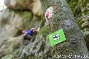 Klettersteig Franken : Der norissteig wanderung mit klettereinlagen