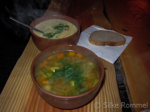 Kulinarischer Genuss mit Rittersuppe und Kartoffelrahmsuppe