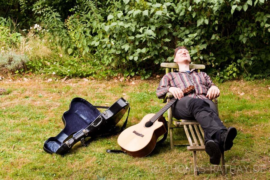Helm van Hahm - Eine Kreativitätsdroge ist für ihn das Komponieren in Skandinavien