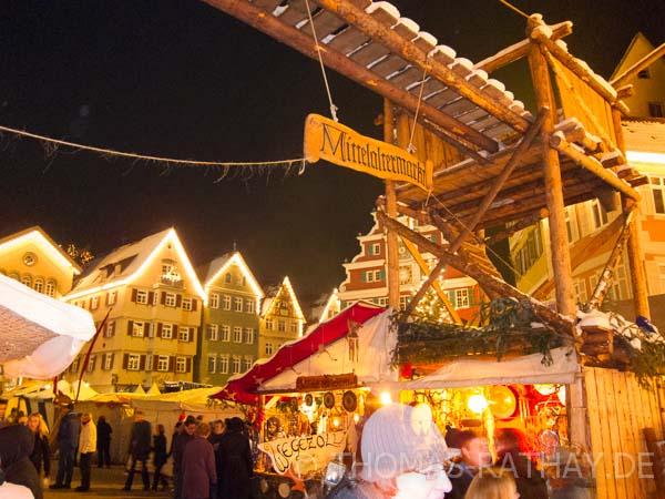 Abendliche Genuss-Stimmung auf dem Esslinger Weihnachtsmarkt