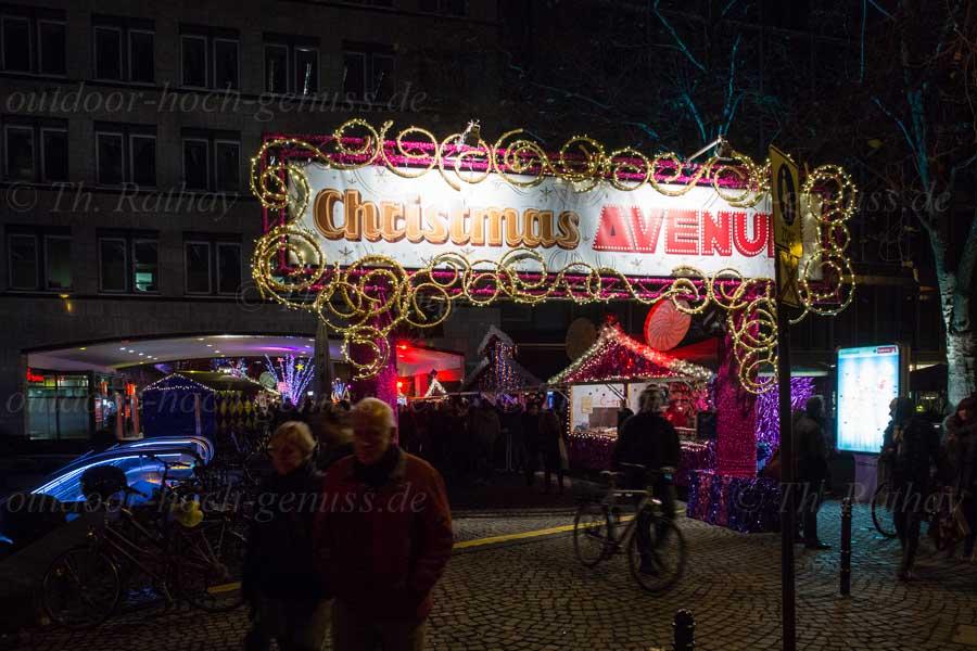 Zur Weihnachtszeit am Rhein