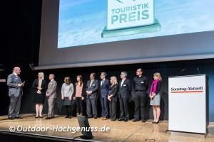 Verleihung der Sonntag Aktuell Touristikpreise 2014