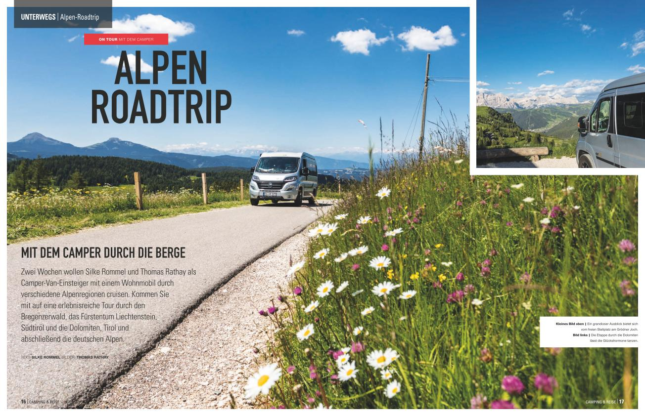 Alpen Roadtrip