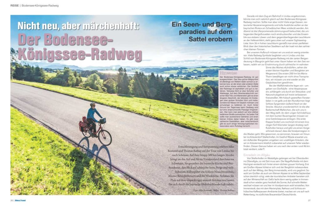Bike und Travel Magazin 2/18