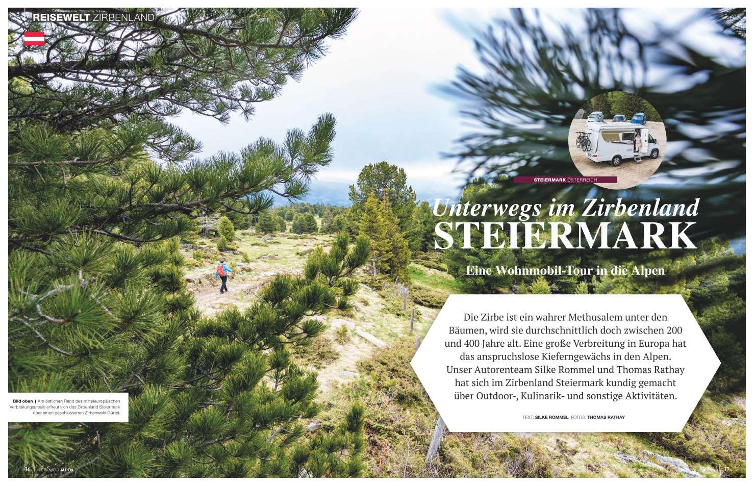 Zirbenland in der Steiermark