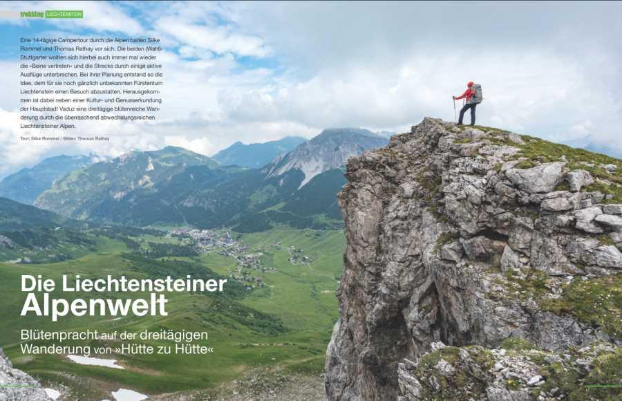 Wanderung in der Liechtensteiner Alpenwelt