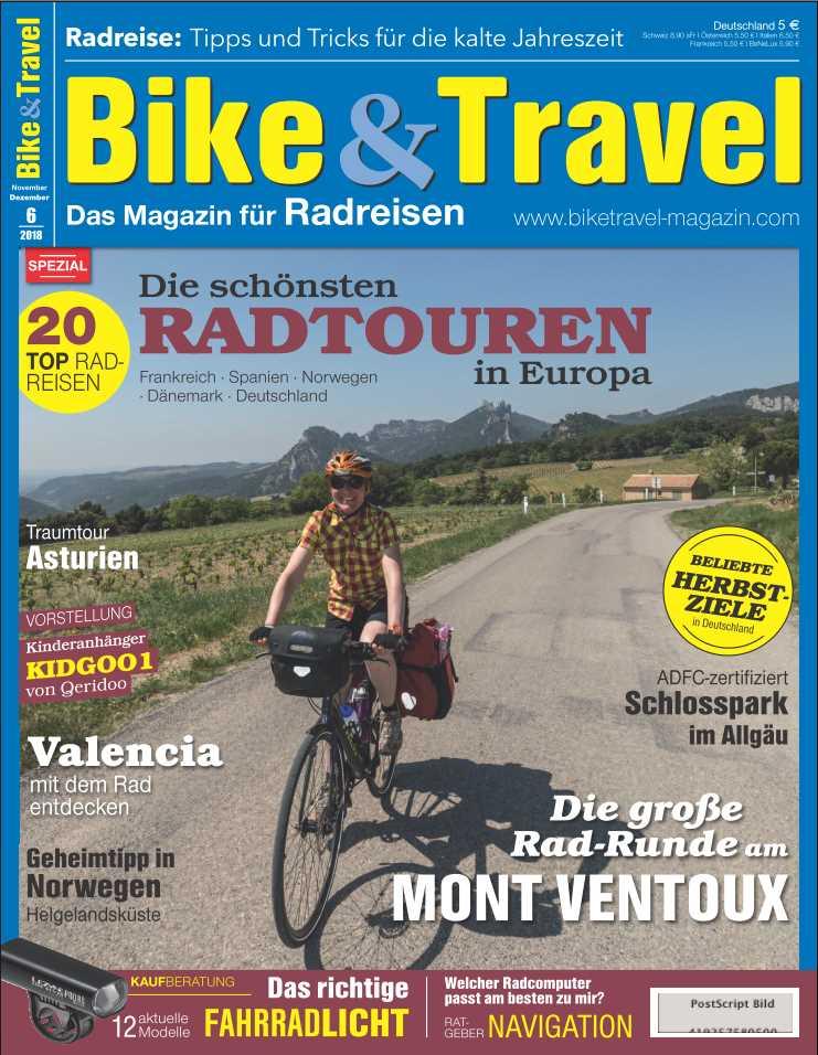 Bike & Travel Ausgabe 6/18
