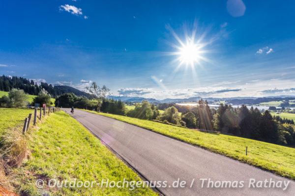 Sonne und Bayerischer See
