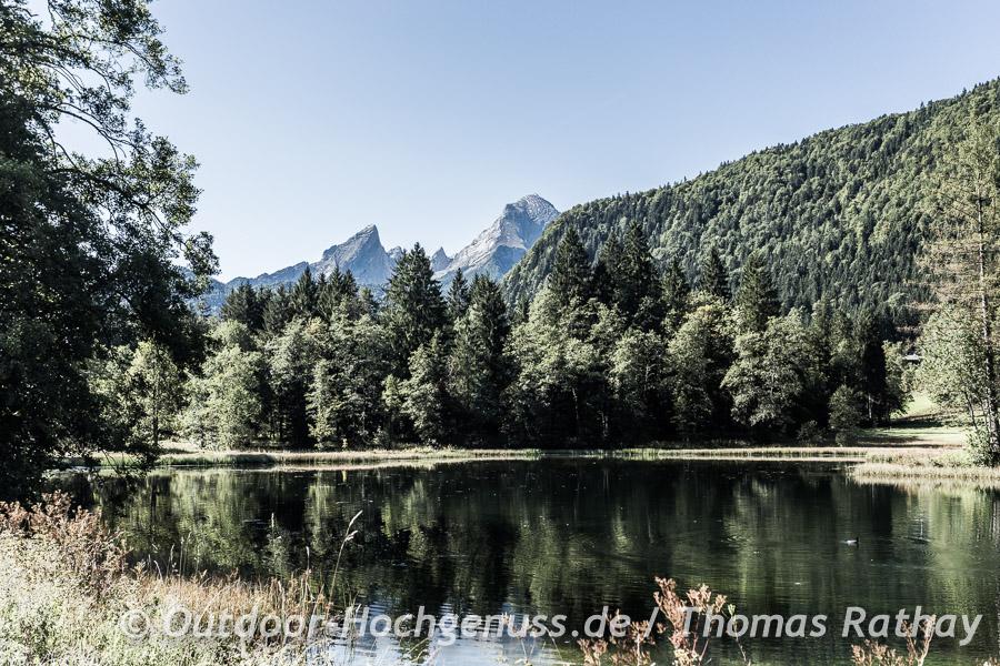 Böcklweiher mit Watzmann-Blick