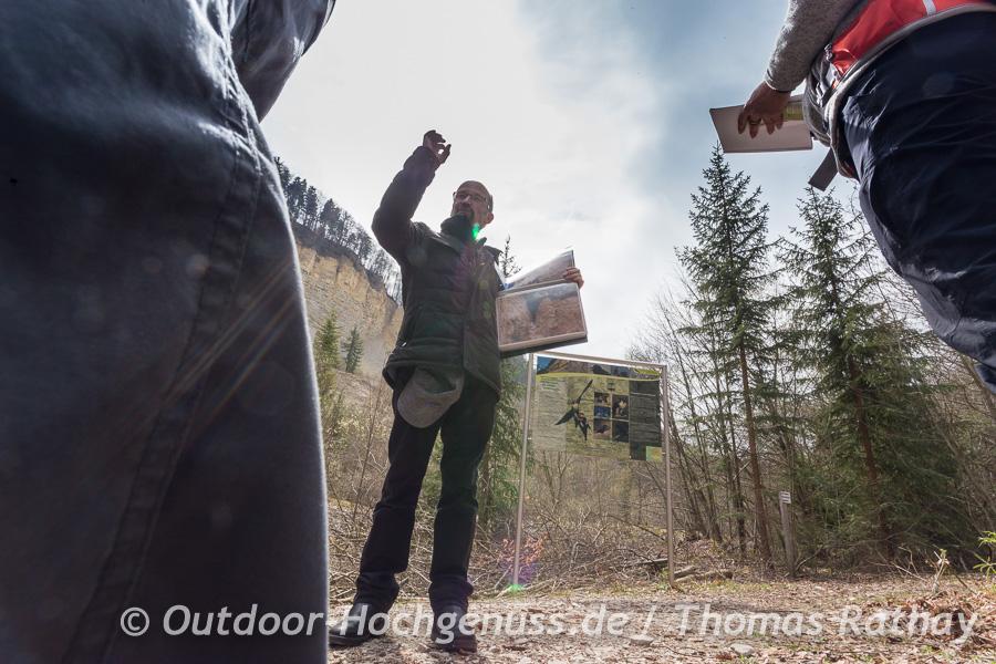Armin Dieter ist der einzige Bergrutschführer Deutschlands