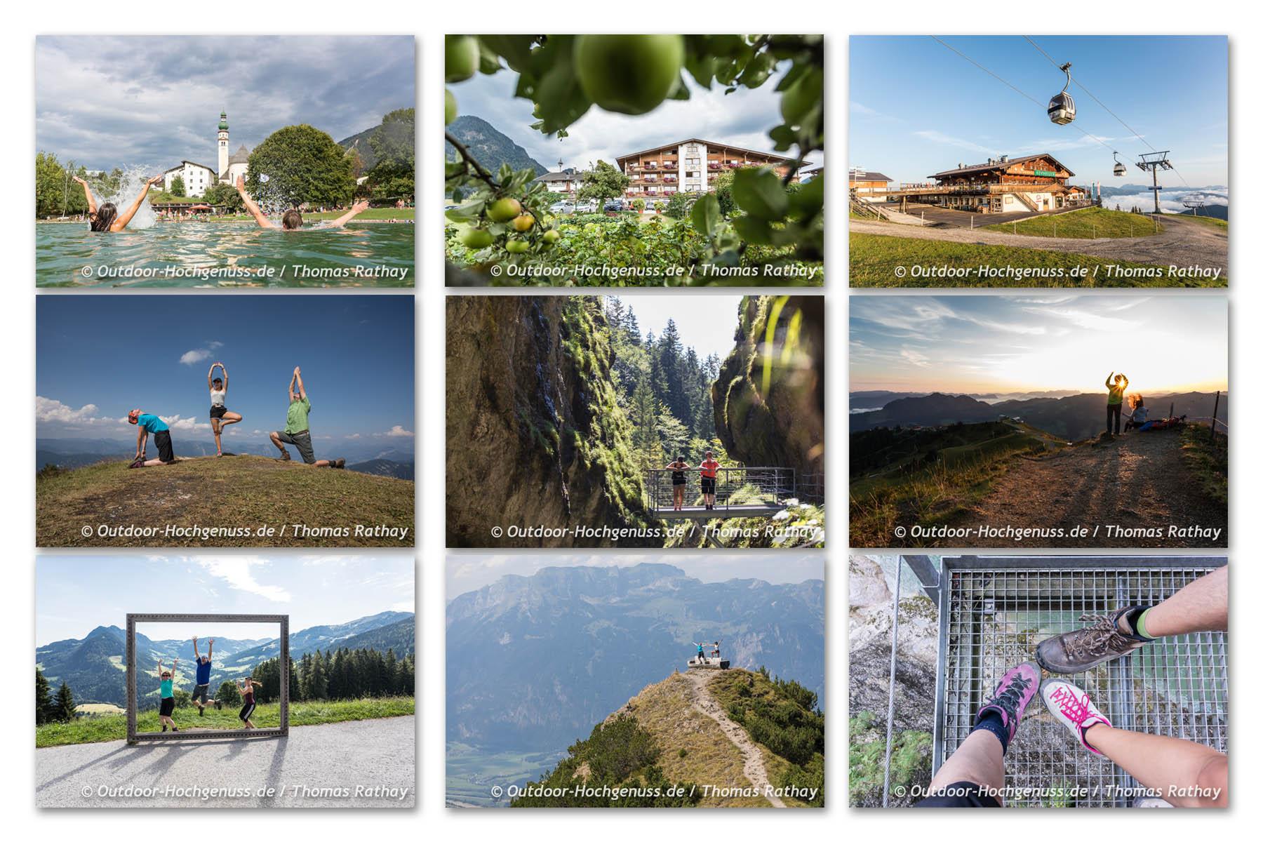 Perfektes Outdoor-Wochenende im Wanderdorf Alpbachtal Seenland