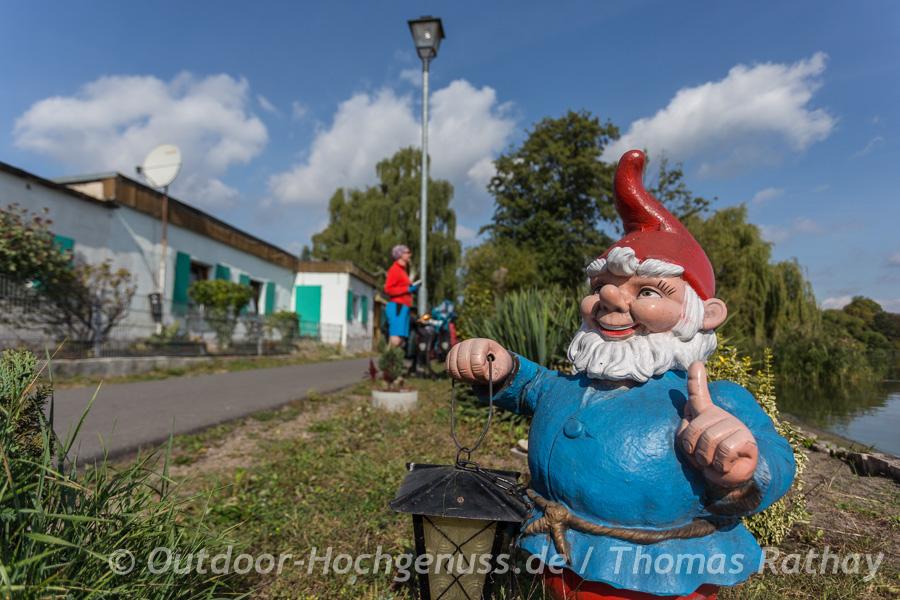 Gartenzwerg an der Havel