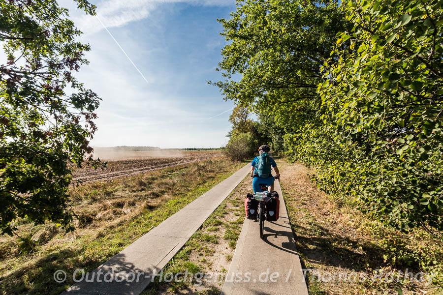 Radtour auf dem Havel-Radweg und dem Havelland-Radweg