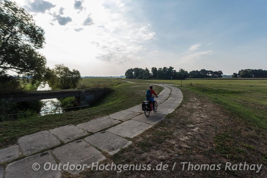 LPG-Plattenweg im Havelland
