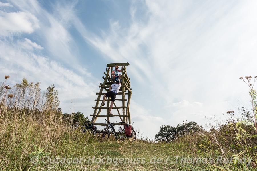 Weites Feld und Ausblick im Havelland in Brandenburg