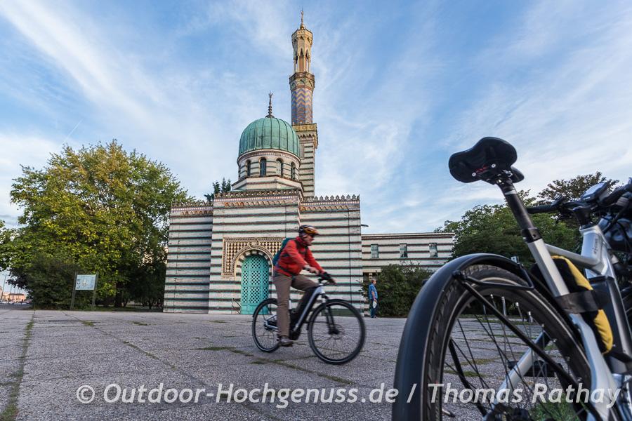 Stadtführung mit dem Rad durch Potsdam