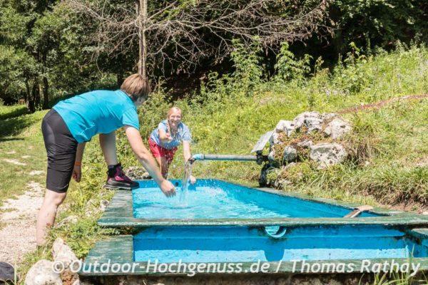 Barfusspfad in Tieringen