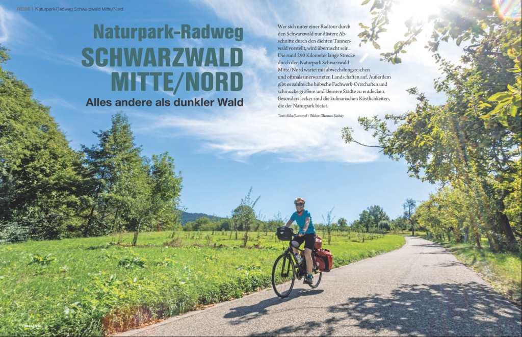 Naturpark Radweg im Schwarzwald
