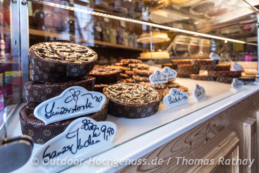 Cafe und Konditorei in Dilsberg am Neckar.