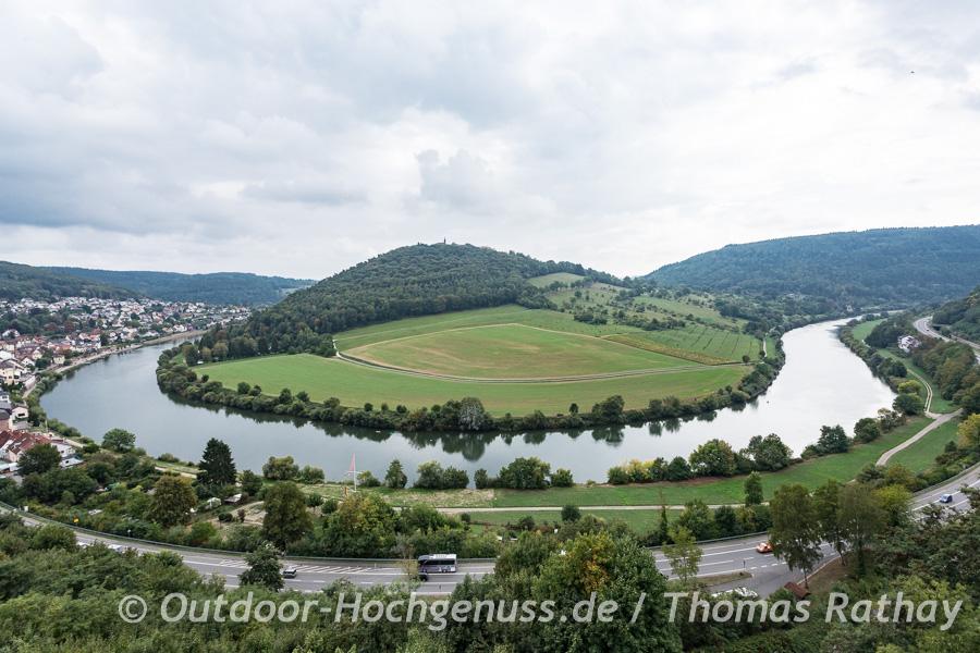 Neckarschleife rund um den Dilsberg
