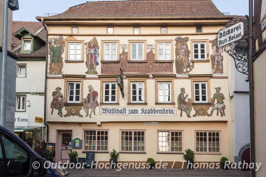 Wirtschaft zum Krabbenstein in Eberbach