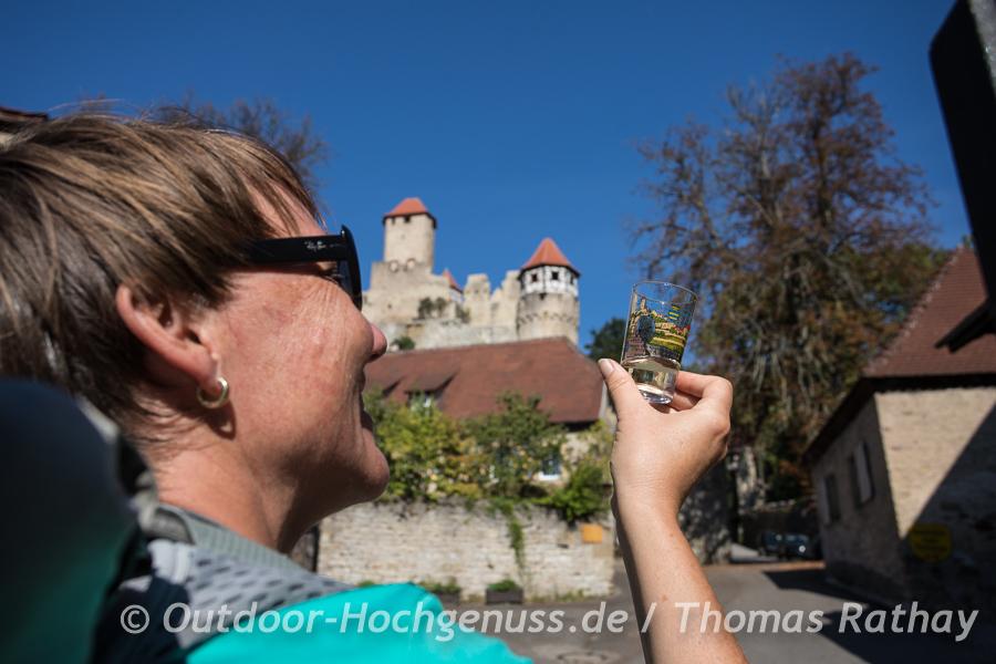 Weinprobe auf dem Hornberg