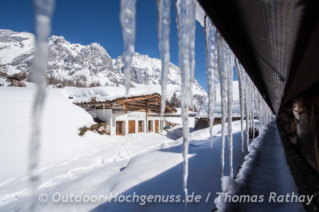 Schneeschuhtour auf der Almenrunde am Brandriedl