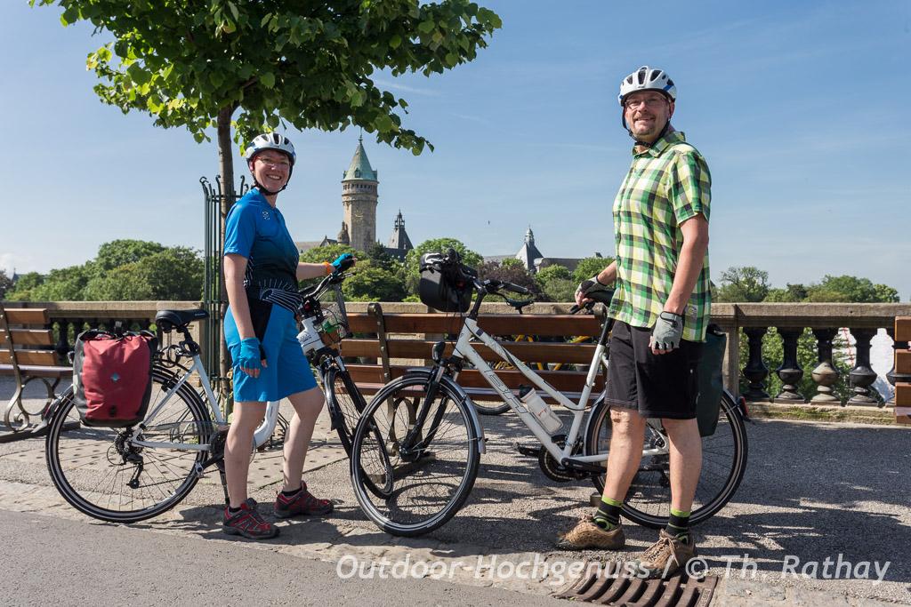 Radtour durch Luxemburg