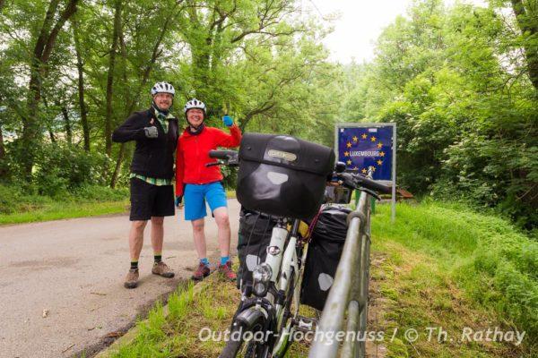 Fahrradtour durch Luxemburg