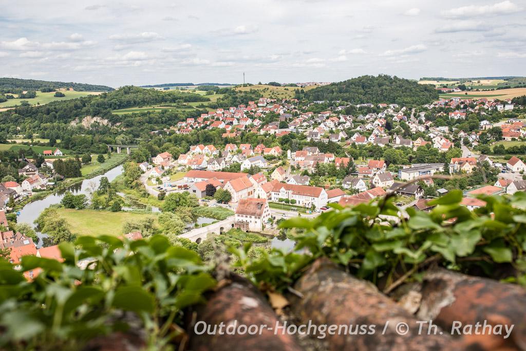 Wandern auf dem Bockrundweg im Ferienland Donau-Ries