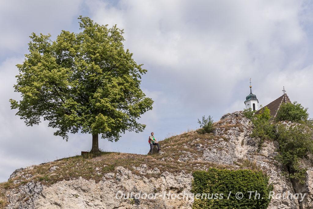 Hügelwanderung im Kesseltal im Ferienland Donau-Ries