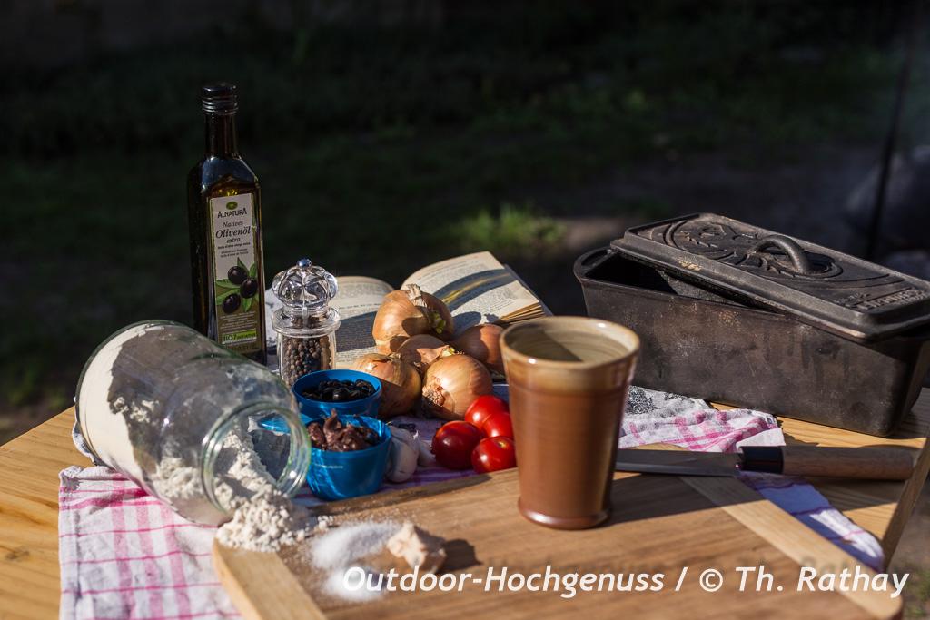 Pissaladiera - den Zwiebelkuchen aus der Provence