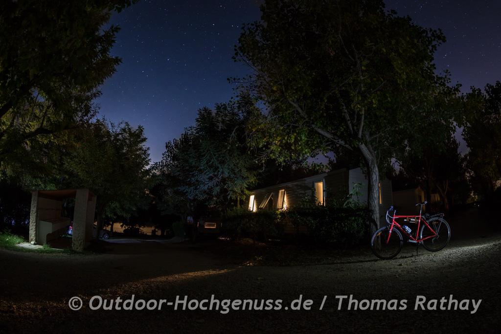 Camping unter den Sternen