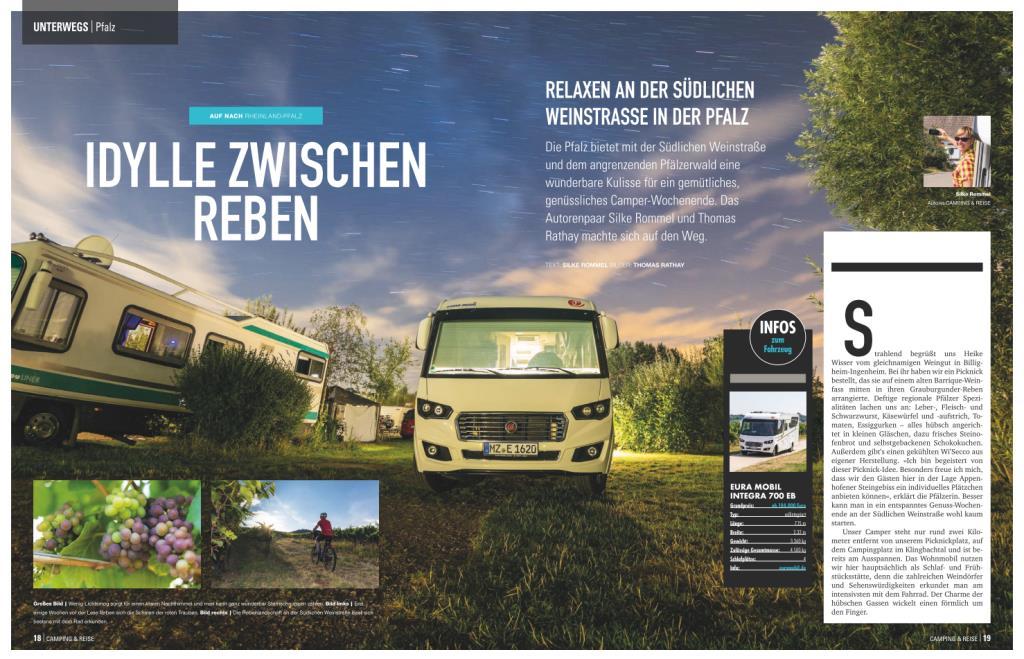 Camping und Reise Magazin MSV Medien Verlag
