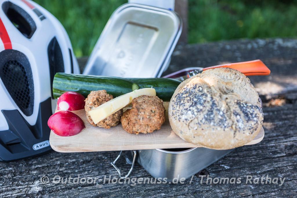 Vesperpause mit Wildbaer Brotbox