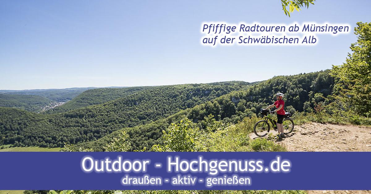 Pfiffige Radtouren ab Münsingen, die Schwäbische Alb in ihrer typischen Ausprägung