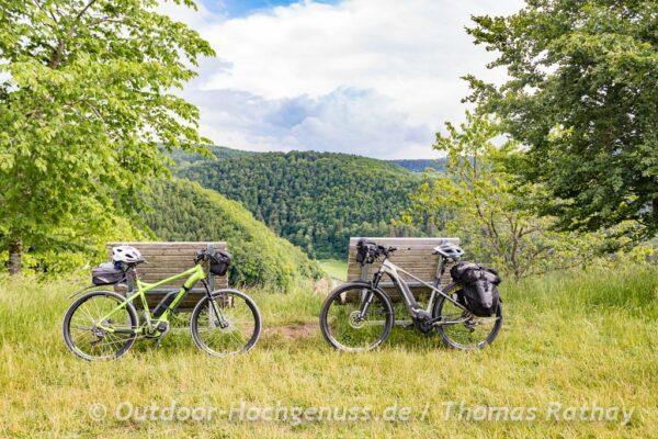 E-Bikes auf dem Hartberg