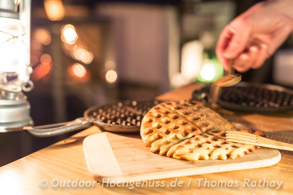 Milchfreie Herzwaffeln nach Schweizer Art