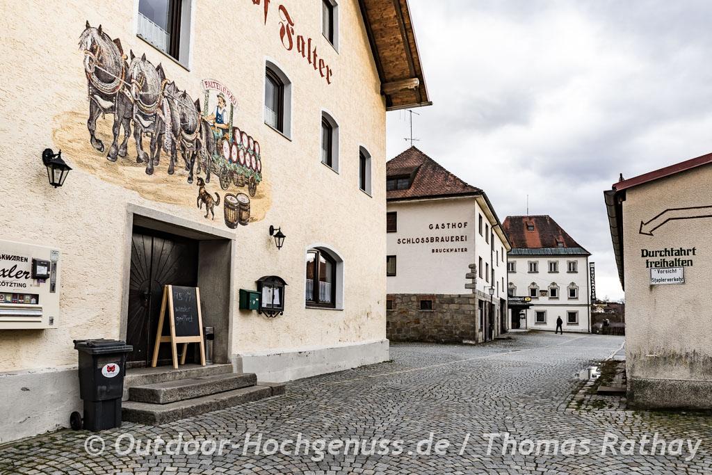 Zwei Brauereien in Drachselsried