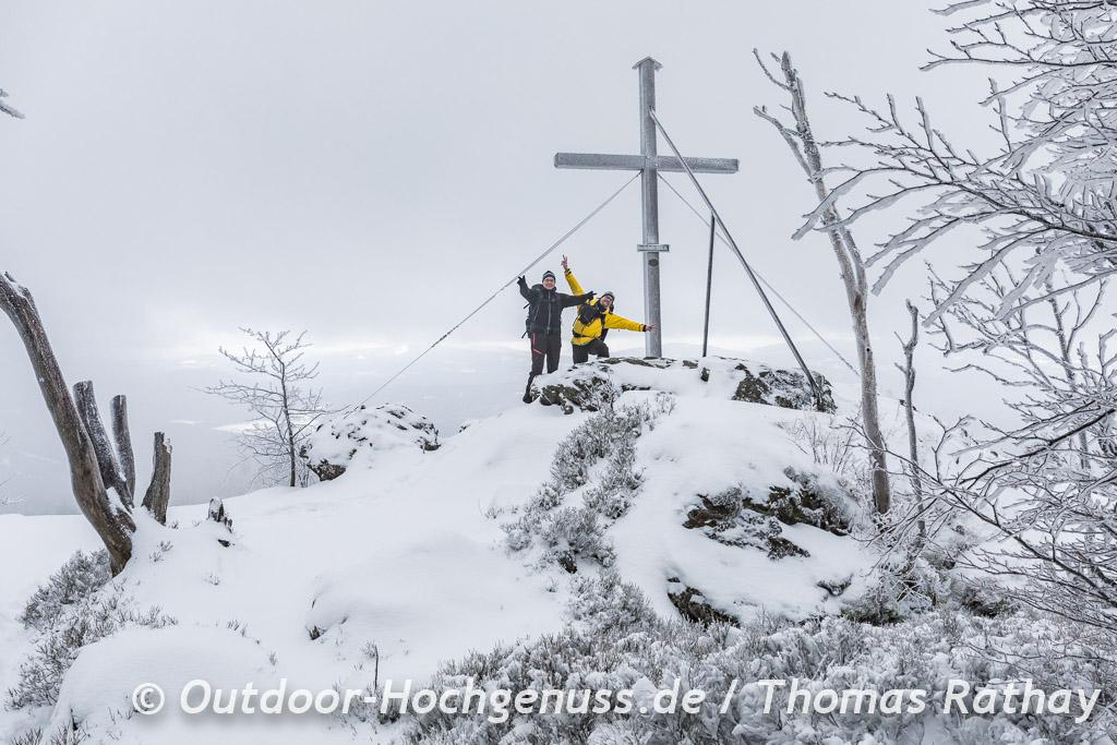 Gipfelkreuz des Hochstein